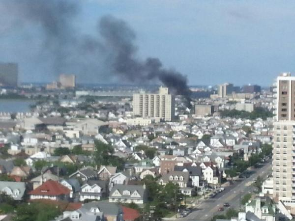 Atlantic City House Fire