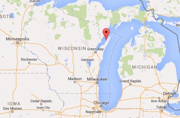 Wisconsin Map Google | woestenhoeve